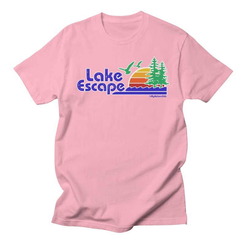 Lake Escape Women's Unisex T-Shirt by My Nature Side