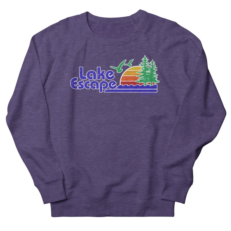 Lake Escape Women's French Terry Sweatshirt by My Nature Side