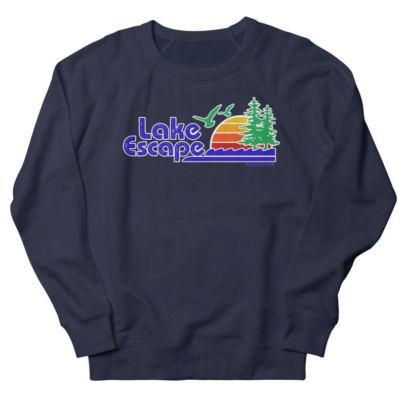Lake Escape Women's Sweatshirt by My Nature Side