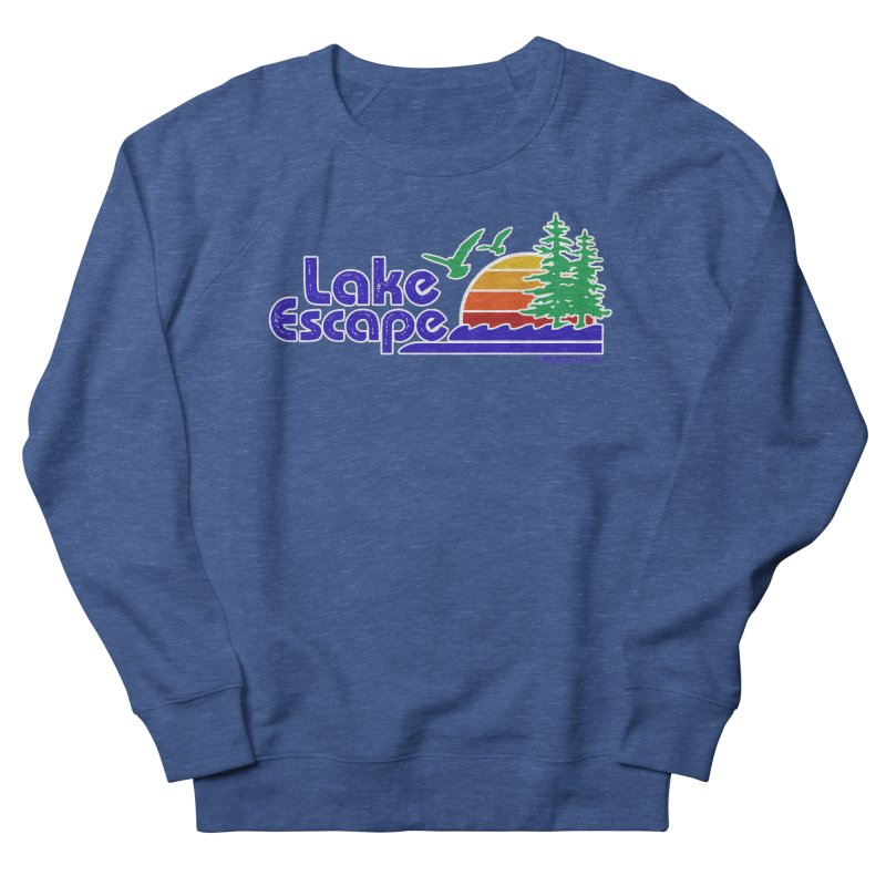 Lake Escape Men's French Terry Sweatshirt by My Nature Side