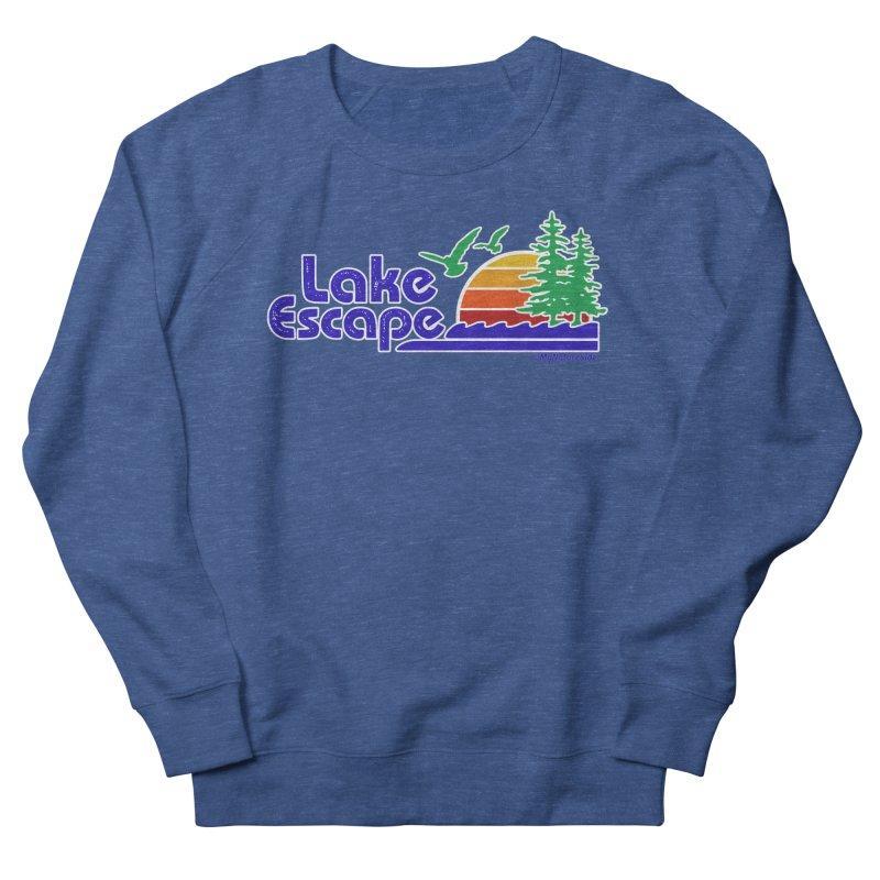 Lake Escape Men's Sweatshirt by My Nature Side