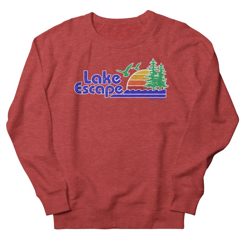 Lake Escape Men's Sweatshirt by My Nature Side