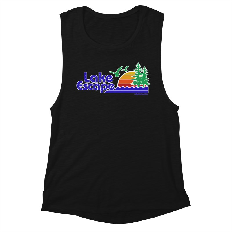 Lake Escape Women's Tank by My Nature Side