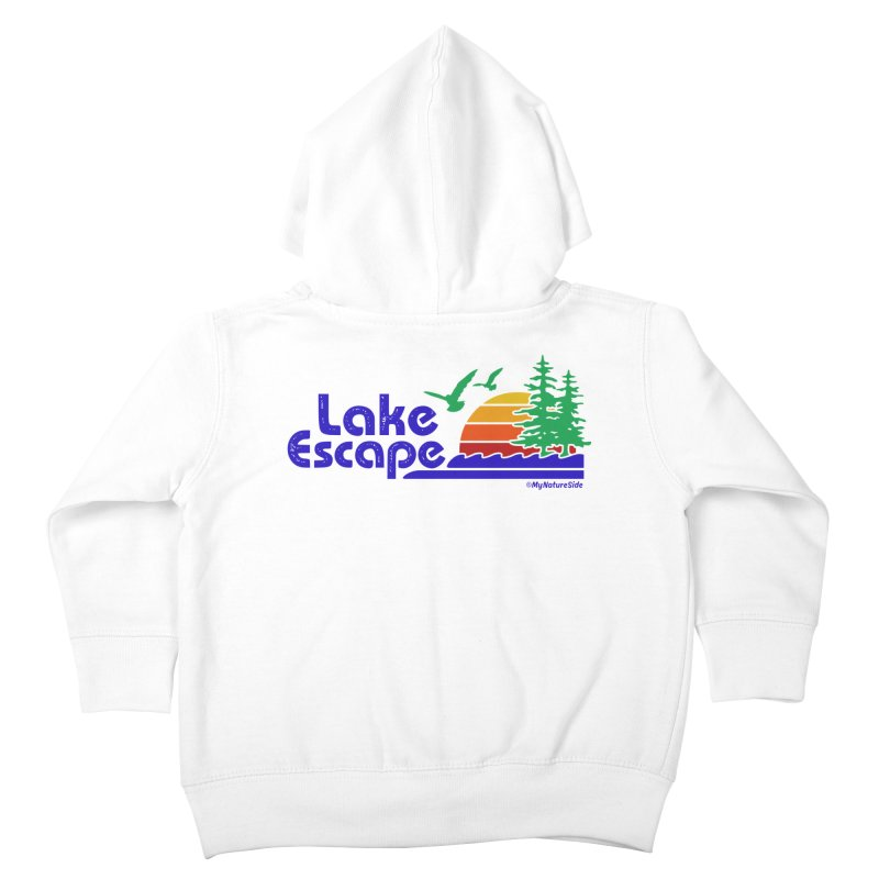 Lake Escape Kids Toddler Zip-Up Hoody by My Nature Side