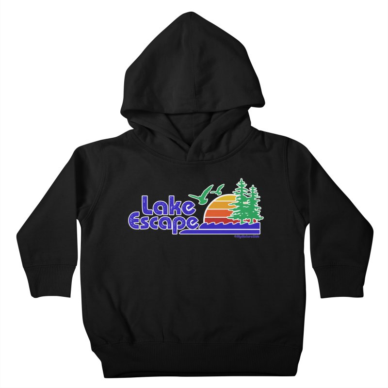 Lake Escape Kids Toddler Pullover Hoody by My Nature Side