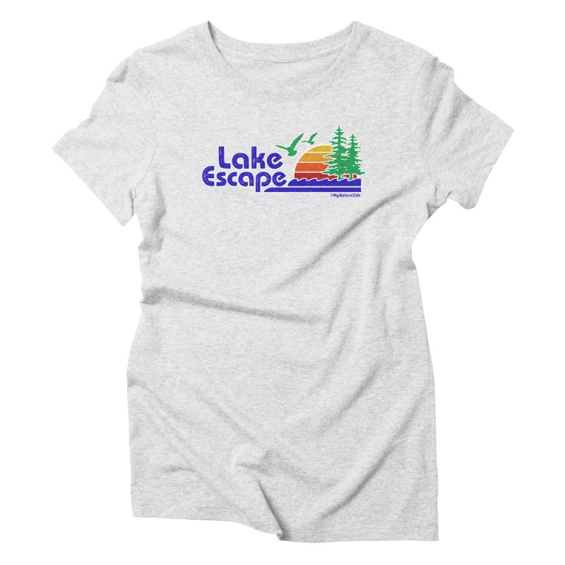 Lake Escape Women's T-Shirt by My Nature Side