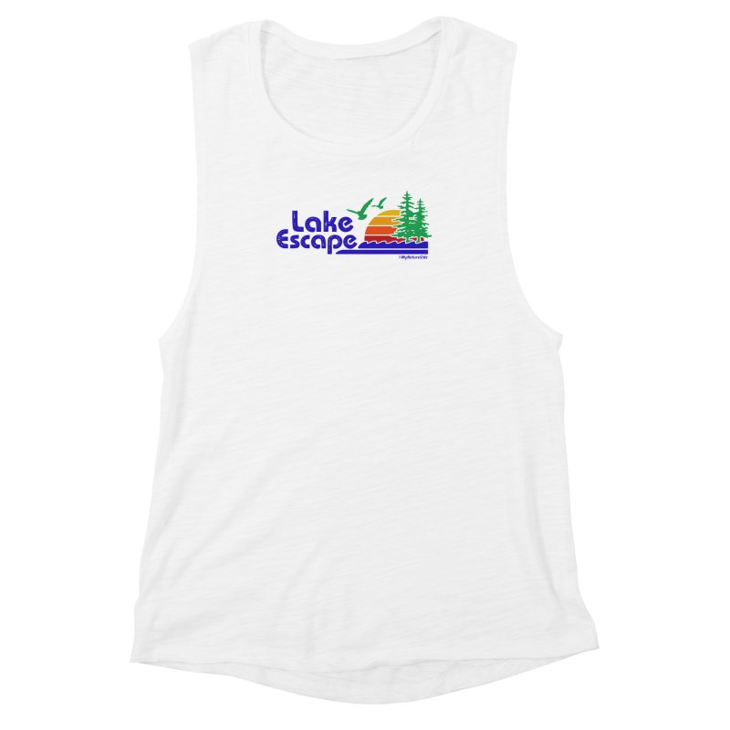 Lake Escape Women's Muscle Tank by My Nature Side