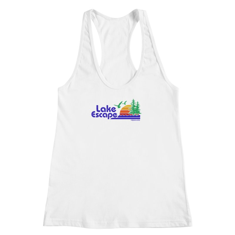 Lake Escape Women's Racerback Tank by My Nature Side