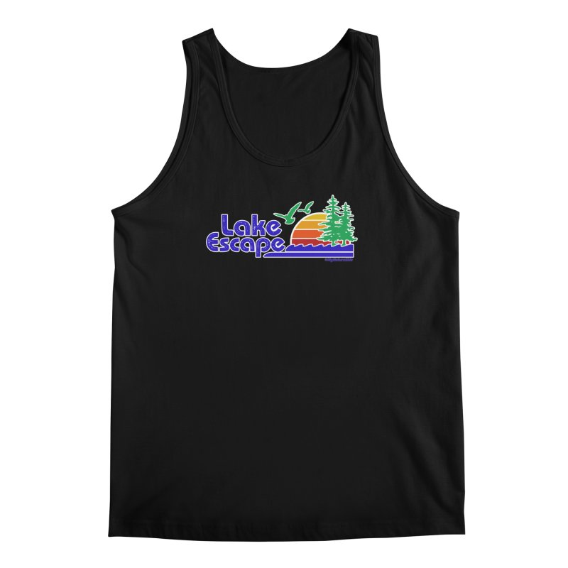 Lake Escape Men's Regular Tank by My Nature Side