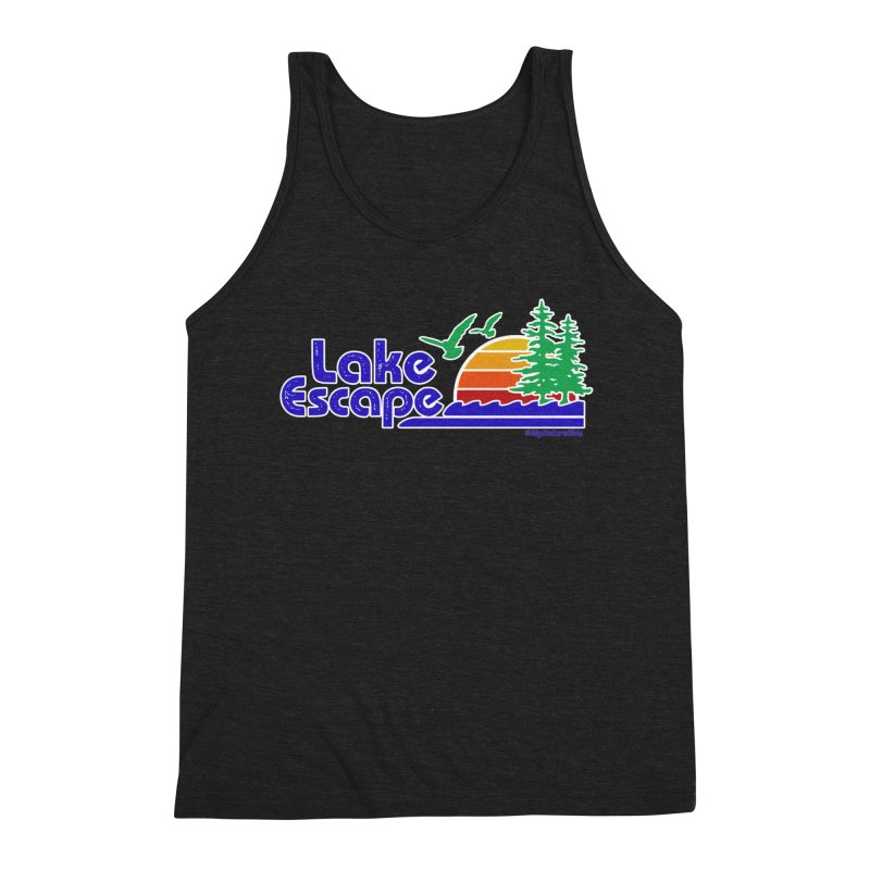 Lake Escape Men's Tank by My Nature Side