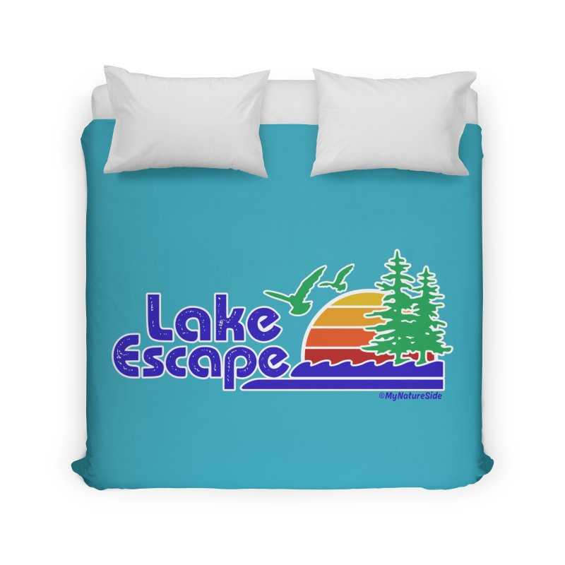 Lake Escape Home Duvet by My Nature Side
