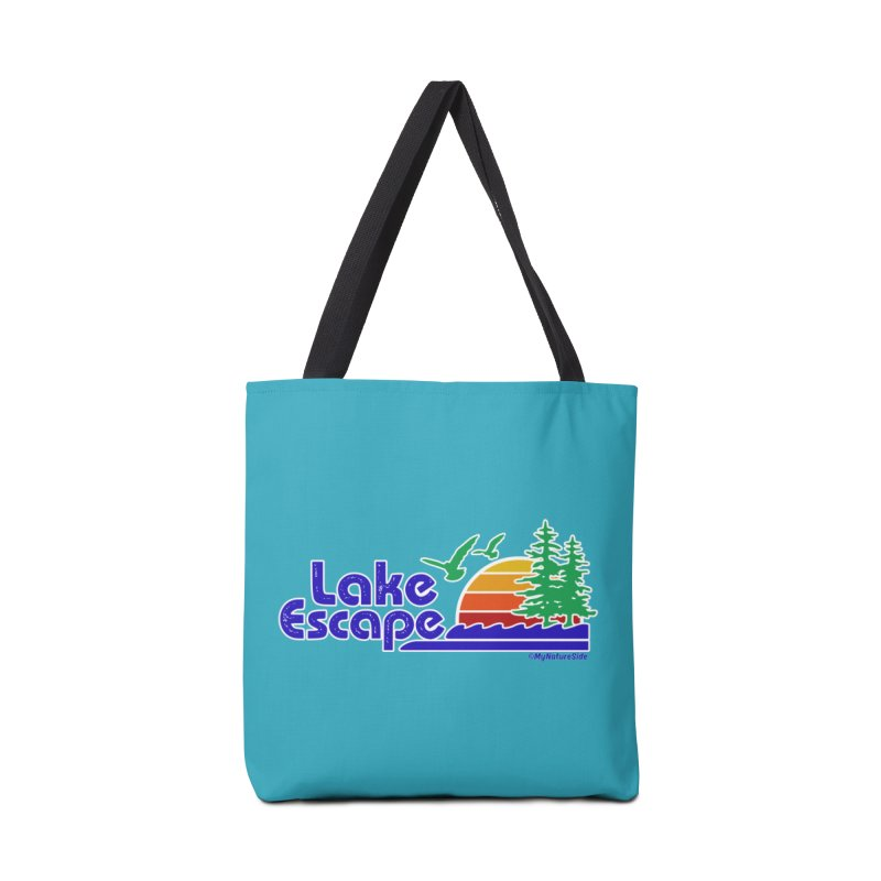 Lake Escape Accessories Bag by My Nature Side