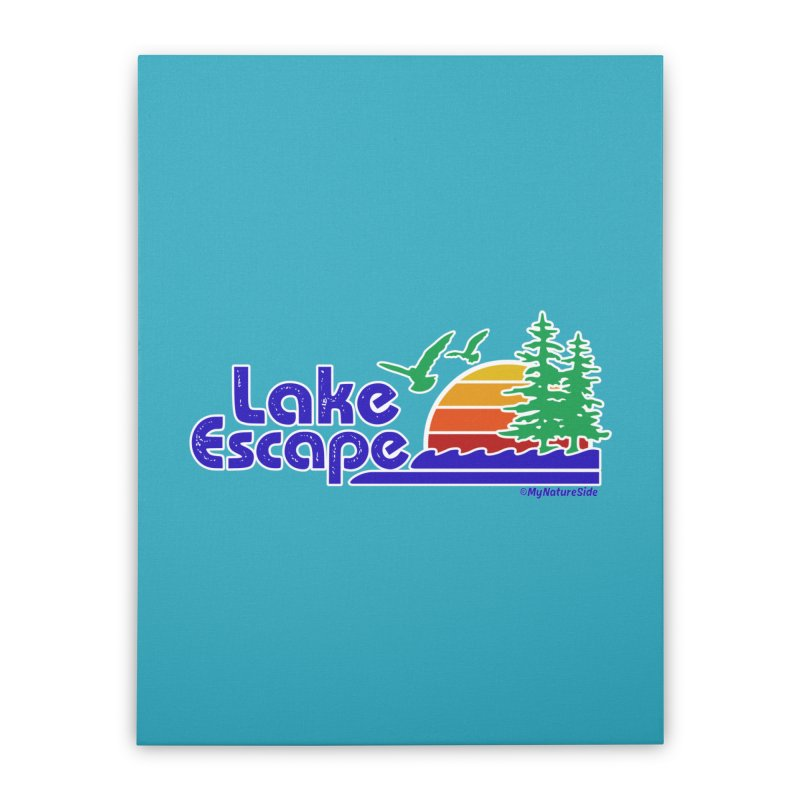 Lake Escape Home Stretched Canvas by My Nature Side