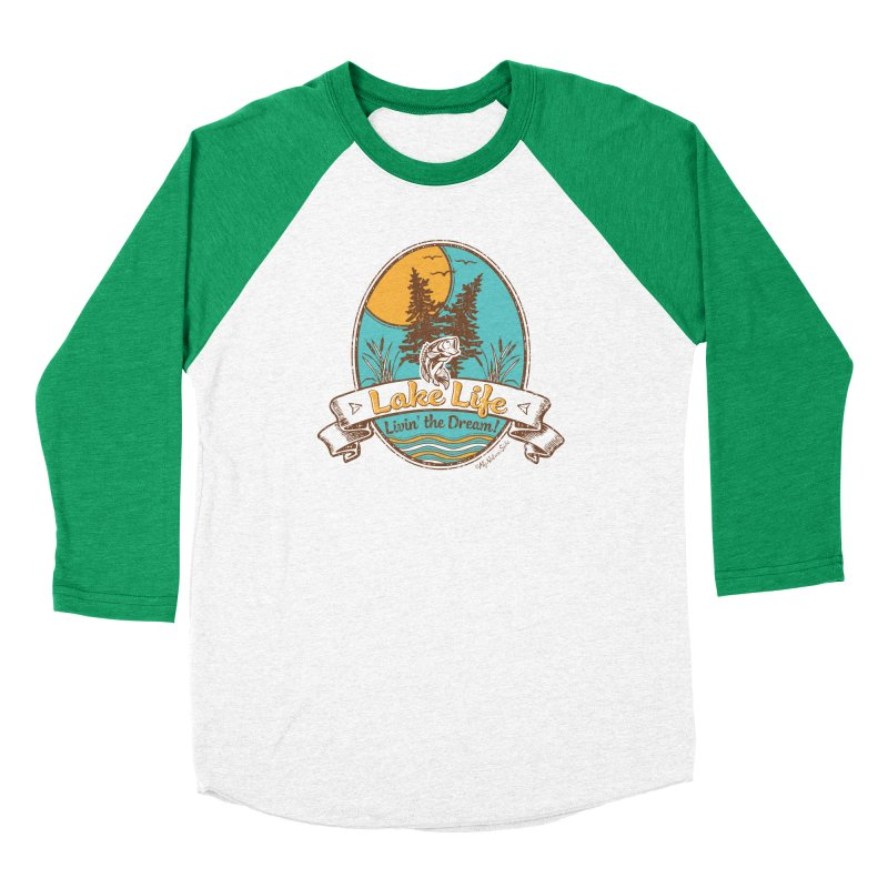 Lake Life - Living the Dream Men's Longsleeve T-Shirt by My Nature Side