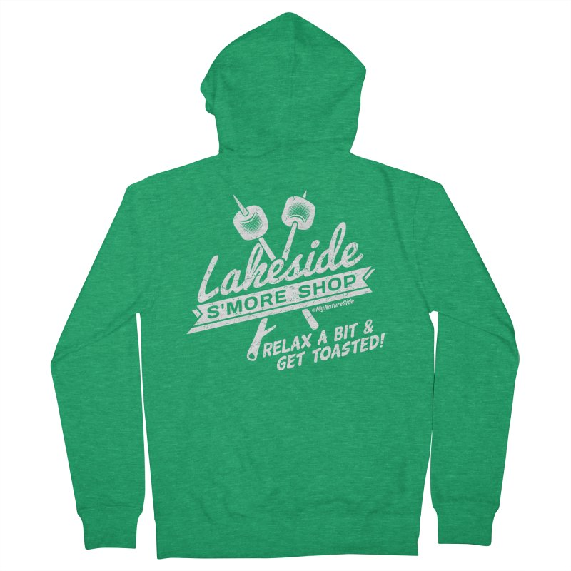 Lakeside Smore Shop Men's Zip-Up Hoody by My Nature Side