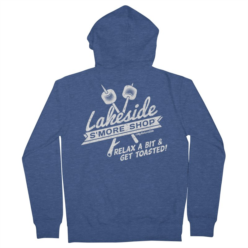 Lakeside Smore Shop Men's French Terry Zip-Up Hoody by My Nature Side