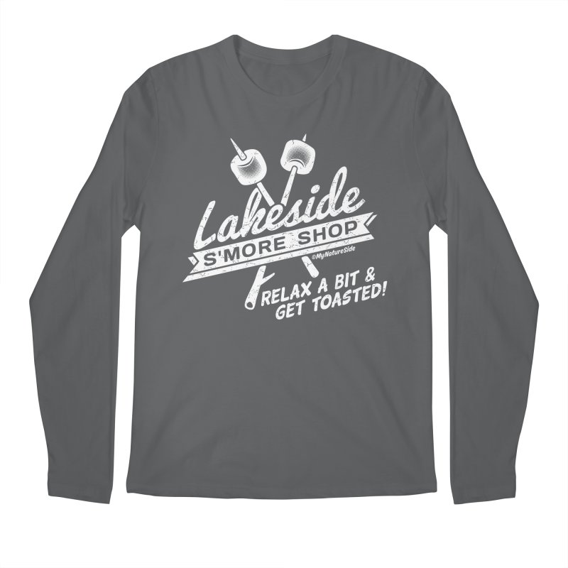 Lakeside Smore Shop Men's Regular Longsleeve T-Shirt by My Nature Side