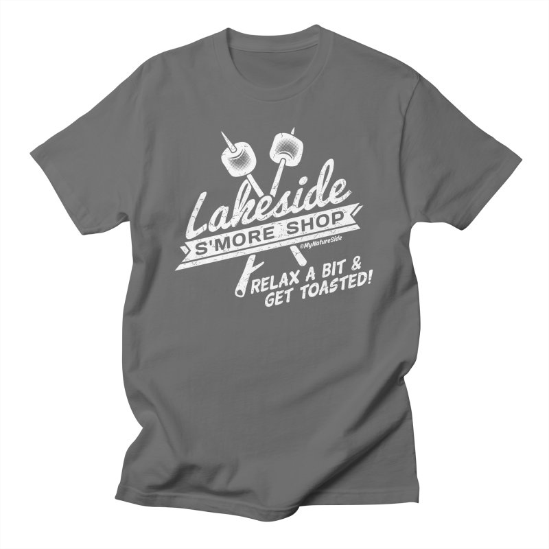 Lakeside Smore Shop Men's T-Shirt by My Nature Side