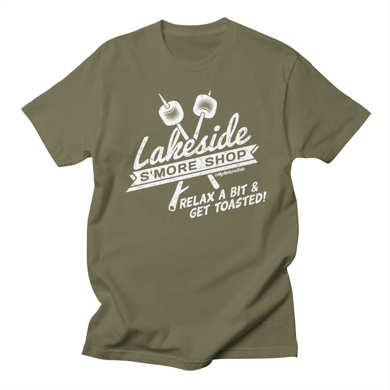 Lakeside Smore Shop Men's Regular T-Shirt by My Nature Side