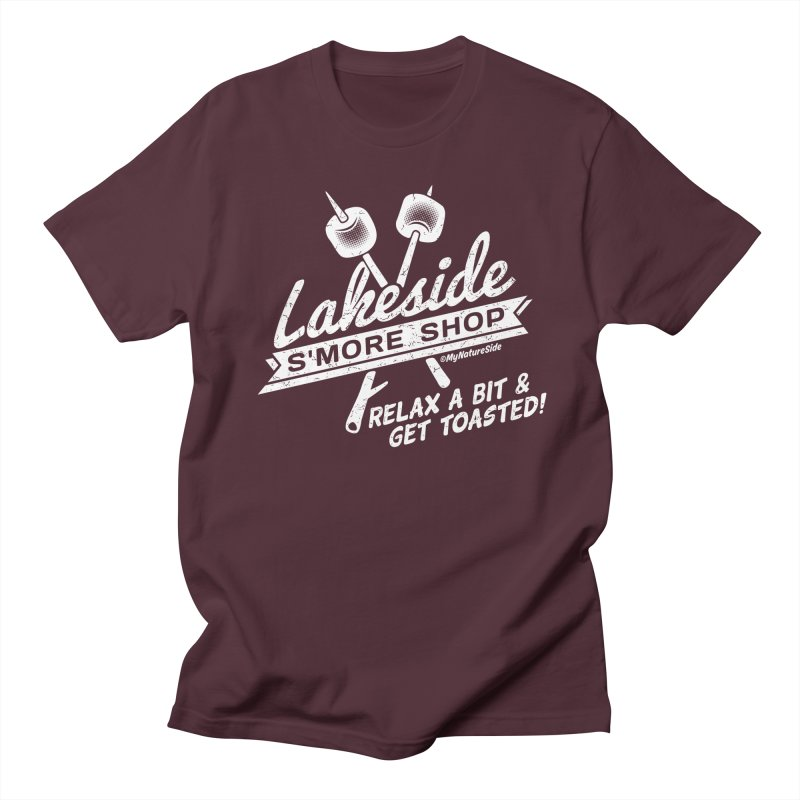 Lakeside Smore Shop Women's Unisex T-Shirt by My Nature Side