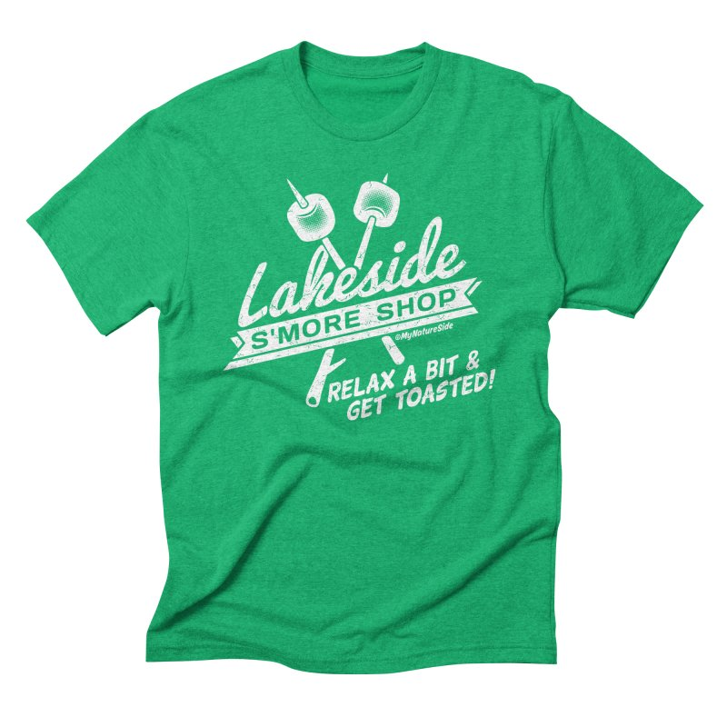 Lakeside Smore Shop Men's Triblend T-Shirt by My Nature Side