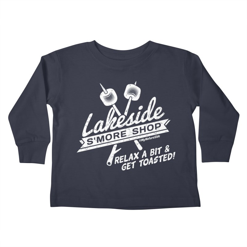 Lakeside Smore Shop Kids Toddler Longsleeve T-Shirt by My Nature Side