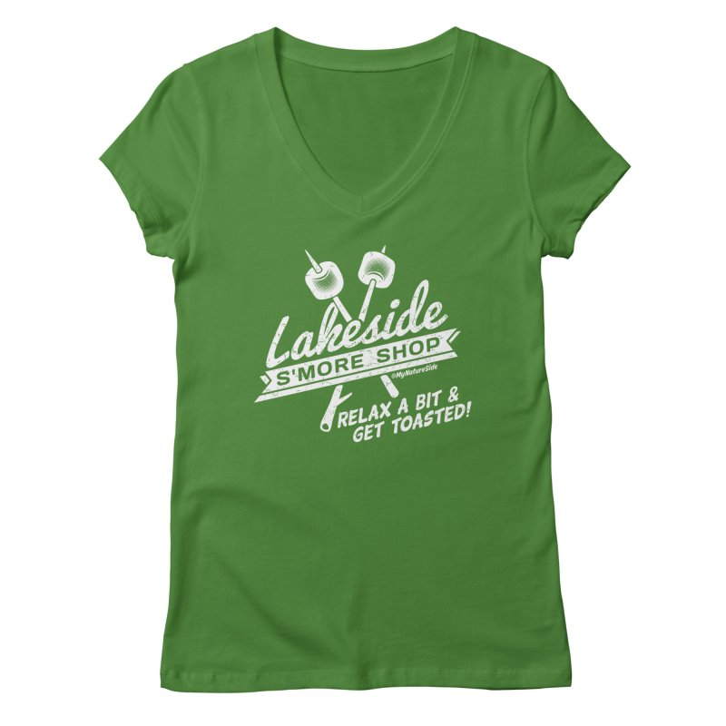 Lakeside Smore Shop Women's V-Neck by My Nature Side