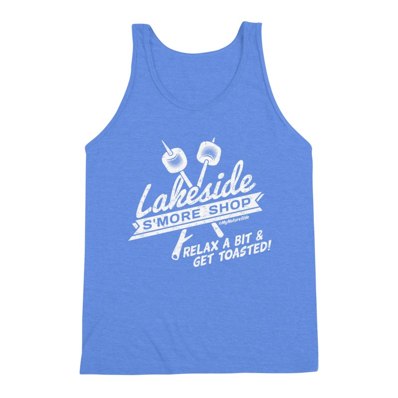 Lakeside Smore Shop Men's Triblend Tank by My Nature Side