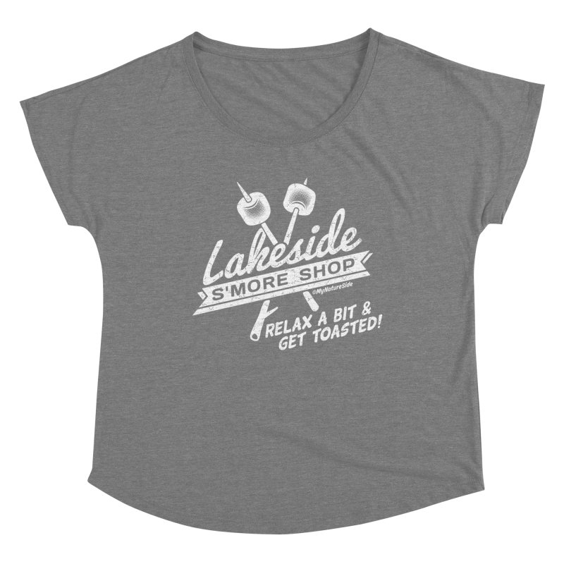 Lakeside Smore Shop Women's Scoop Neck by My Nature Side