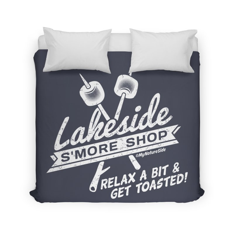 Lakeside Smore Shop Home Duvet by My Nature Side
