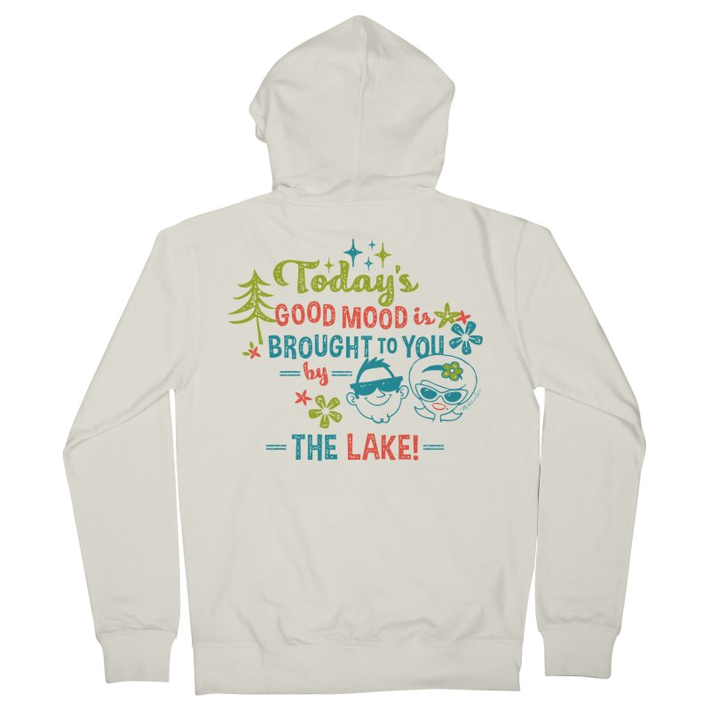 Today's Good Mood is Brought to You by The Lake Men's French Terry Zip-Up Hoody by My Nature Side