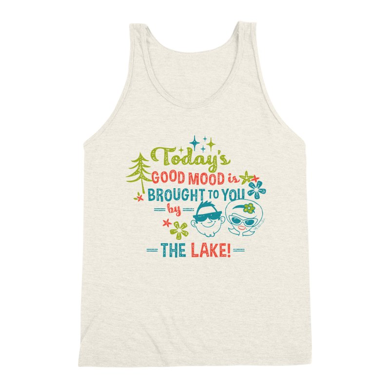 Today's Good Mood is Brought to You by The Lake Men's Tank by My Nature Side