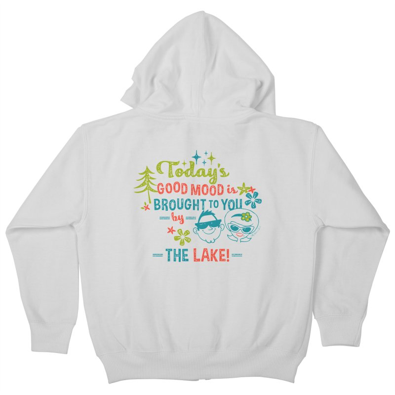 Today's Good Mood is Brought to You by The Lake Kids Zip-Up Hoody by My Nature Side