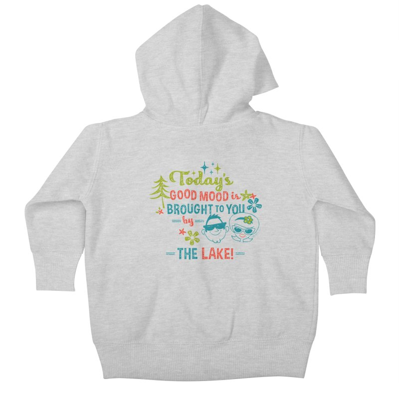 Today's Good Mood is Brought to You by The Lake Kids Baby Zip-Up Hoody by My Nature Side
