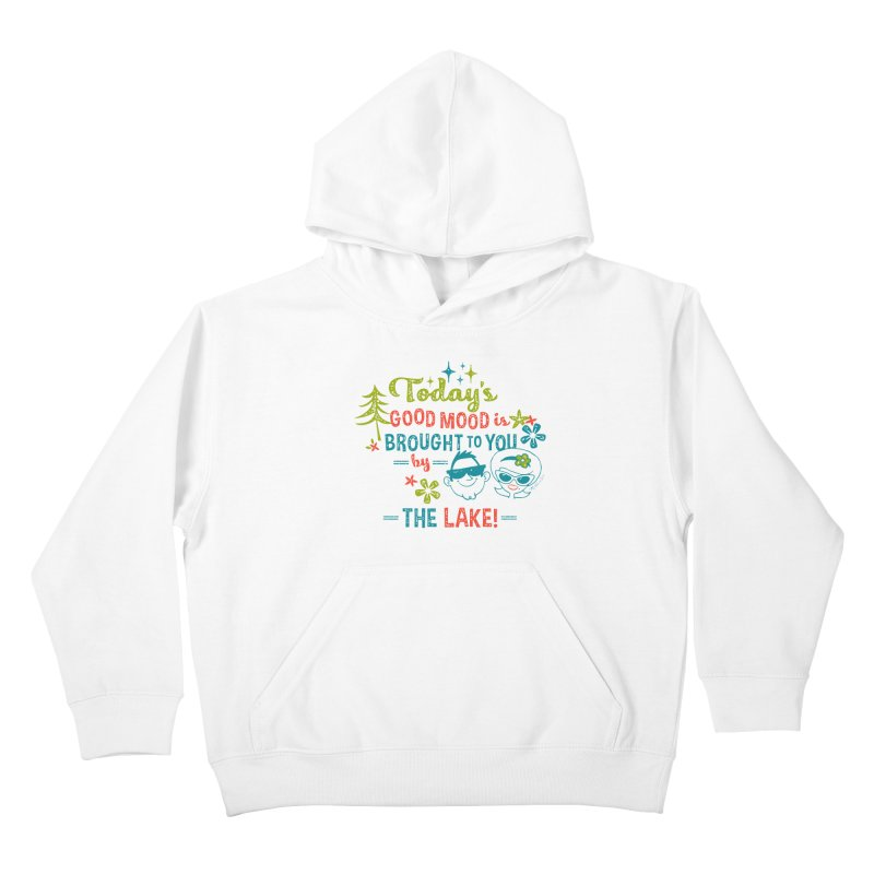 Today's Good Mood is Brought to You by The Lake Kids Pullover Hoody by My Nature Side