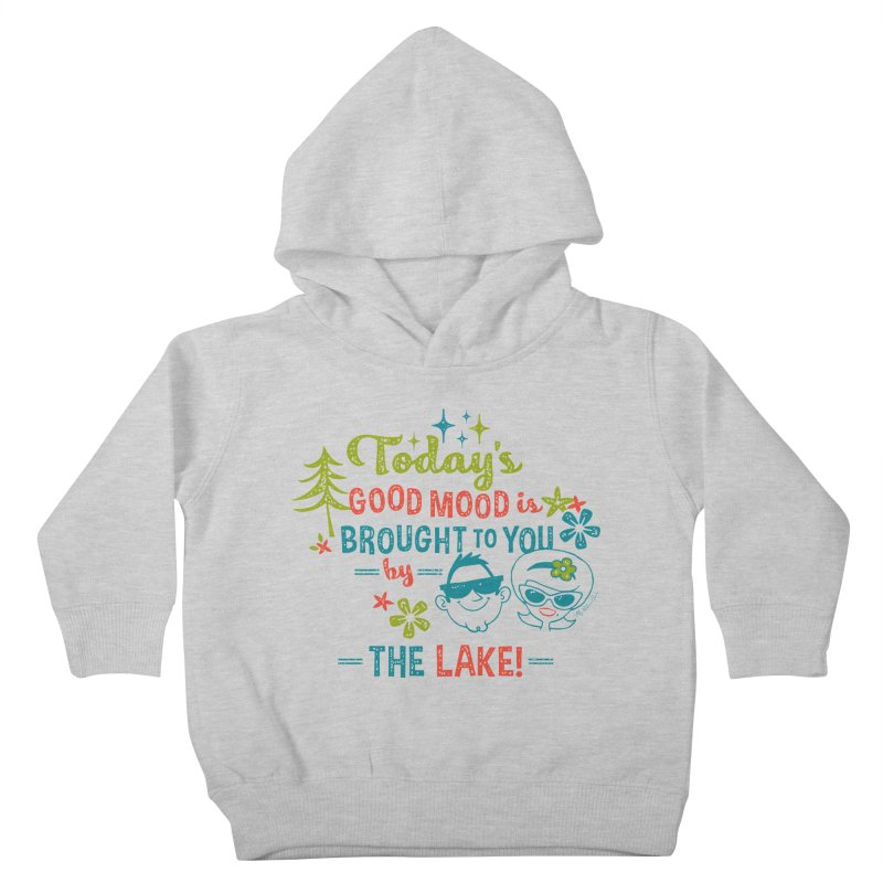 Today's Good Mood is Brought to You by The Lake Kids Toddler Pullover Hoody by My Nature Side