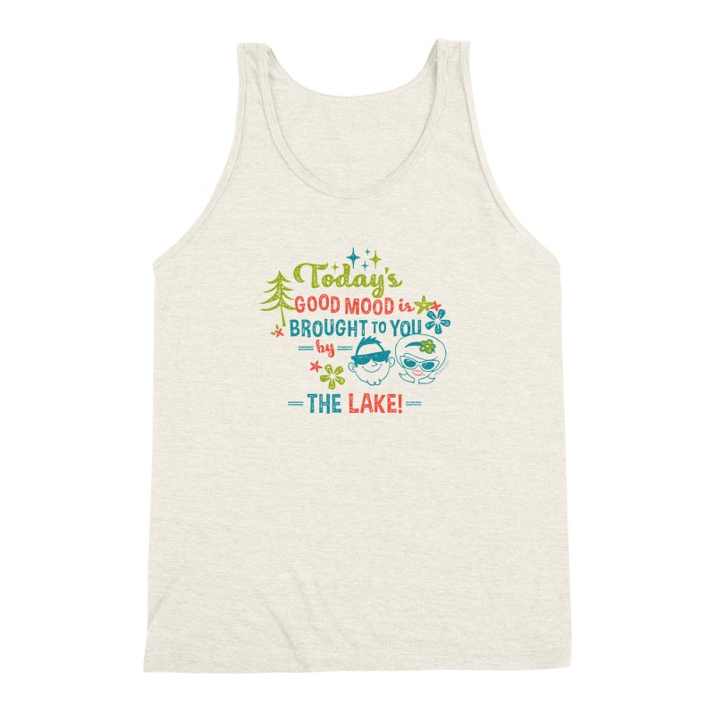 Today's Good Mood is Brought to You by The Lake Men's Triblend Tank by My Nature Side