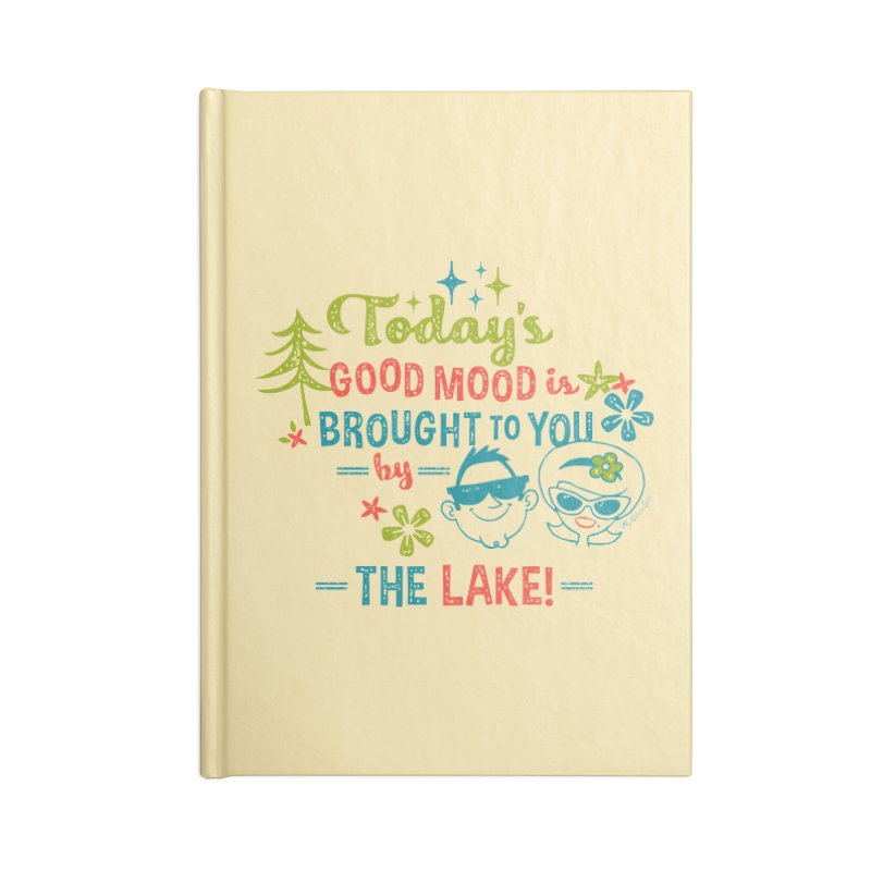 Today's Good Mood is Brought to You by The Lake Accessories Lined Journal Notebook by My Nature Side