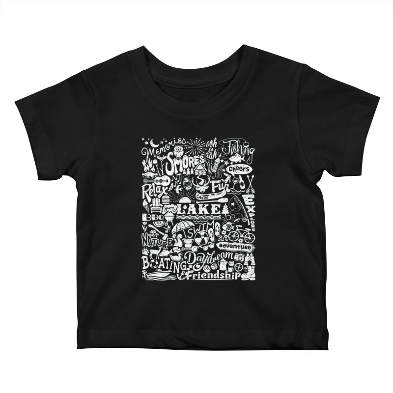 Lake Life Kids Baby T-Shirt by My Nature Side