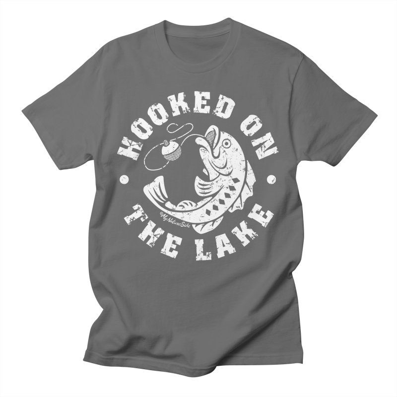Hooked on the Lake Men's T-Shirt by My Nature Side