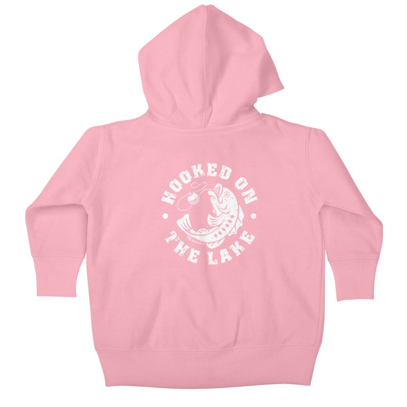 Hooked on the Lake Kids Baby Zip-Up Hoody by My Nature Side