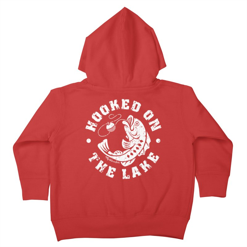 Hooked on the Lake Kids Toddler Zip-Up Hoody by My Nature Side