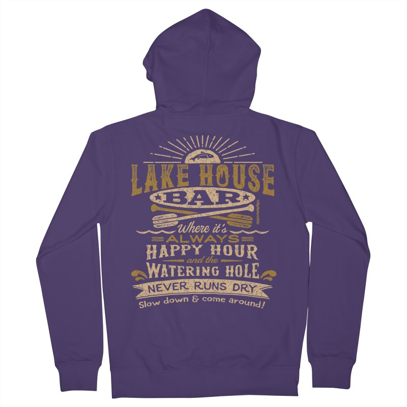 Lake House Bar Women's Zip-Up Hoody by My Nature Side