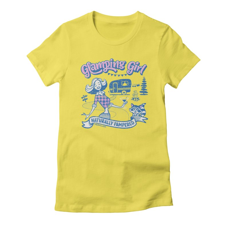 Glamping Girl Women's T-Shirt by My Nature Side
