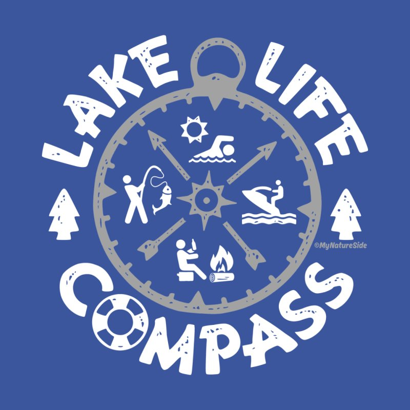 Lake Life Compass by My Nature Side