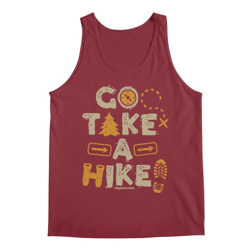 Go Take A Hike Men's Regular Tank by My Nature Side