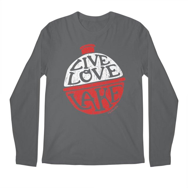 Live Love Lake - Bobber Men's Regular Longsleeve T-Shirt by My Nature Side