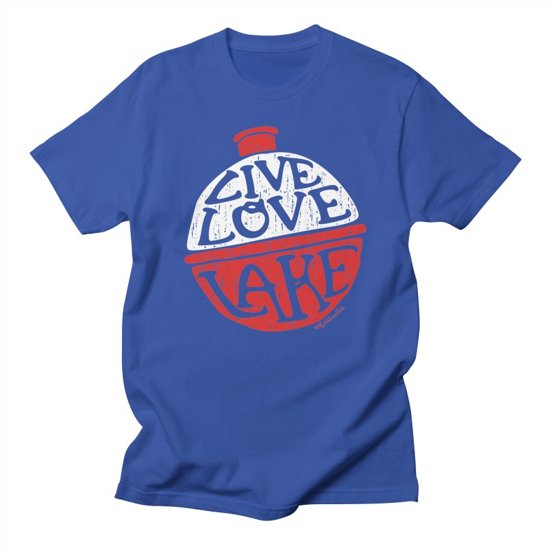 Live Love Lake - Bobber Men's T-Shirt by My Nature Side