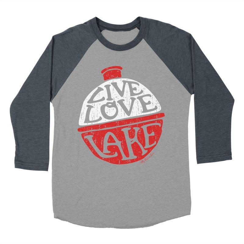Live Love Lake - Bobber Women's Baseball Triblend Longsleeve T-Shirt by My Nature Side