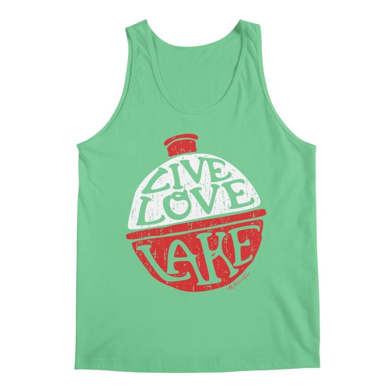 Live Love Lake - Bobber Men's Regular Tank by My Nature Side